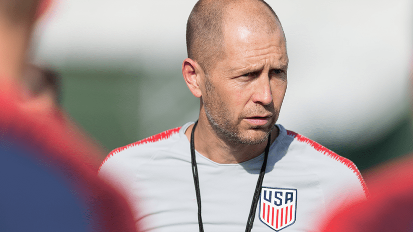 Gregg Berhalter - USMNT - close up