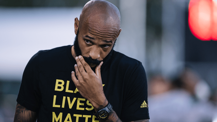 Thierry Henry - Montreal Impact - close up