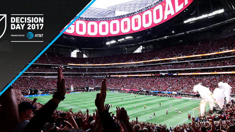 Decision Day 2017 - Mercedes-Benz Stadium - Atlanta United vs. Toronto FC - Record crowd