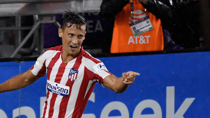 Marcos Llorente - All-Star 2019 - wide shot