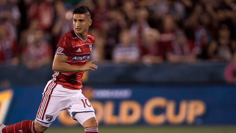 Mauro Diaz - FC Dallas - Back in action after injury