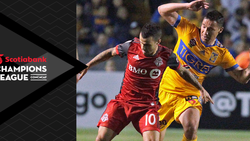 Concacaf Champions League - CCL - Sebastian Giovinco - Toronto FC - Fends off Tigres