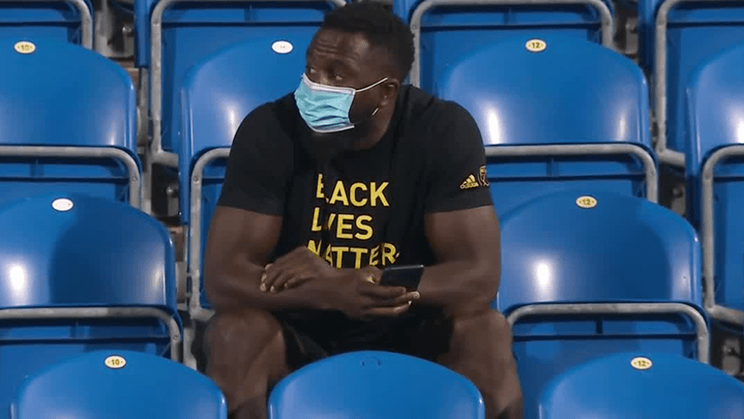 Jozy Altidore - Toronto FC in stands - August 28, 2020