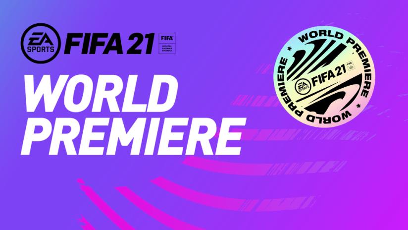 FIFA 21 World Premiere promo image - Oct. 1, 2020