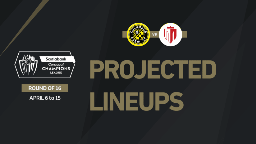 Projected lineups for Concacaf Champions League Round of 16 - April 15
