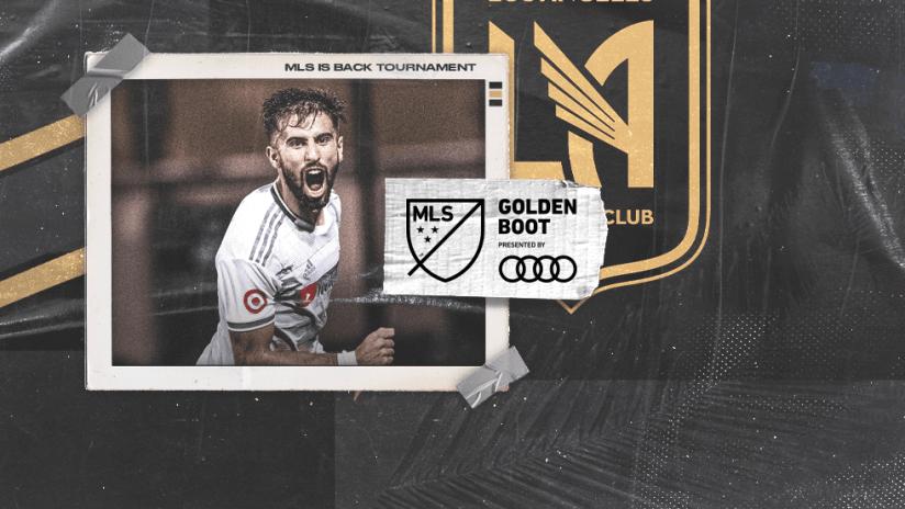 MLS is Back Tournament - awards - Golden Boot winner