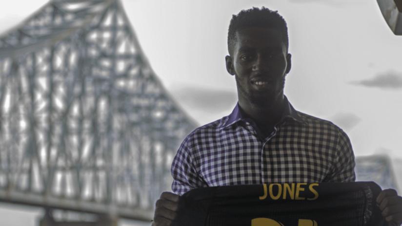 Derrick Jones - Philadelphia Union - signing