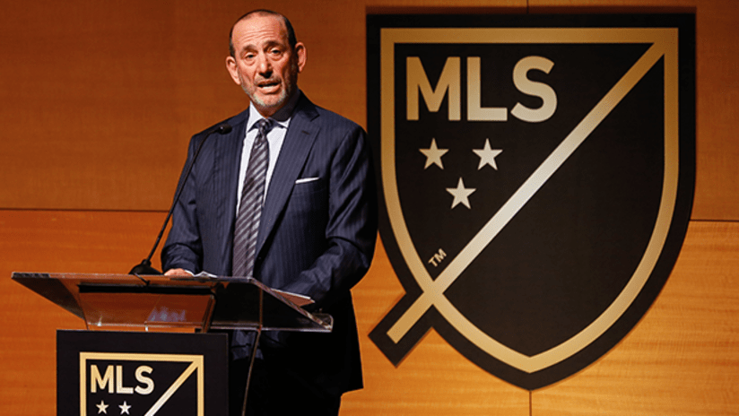 MLS Commissioner Don Garber provides expansion update on club No. 30