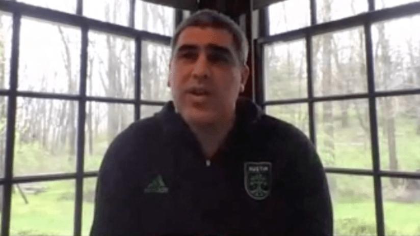 Claudio Reyna - Austin FC - thumb only