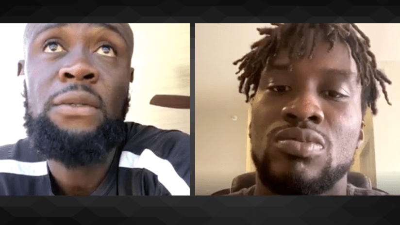 Kei Kamara, CJ Sapong - Insta video