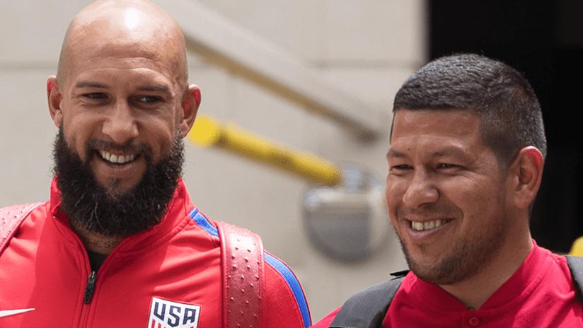 Tim Howard and Nick Rimando - June 2017 - US national team