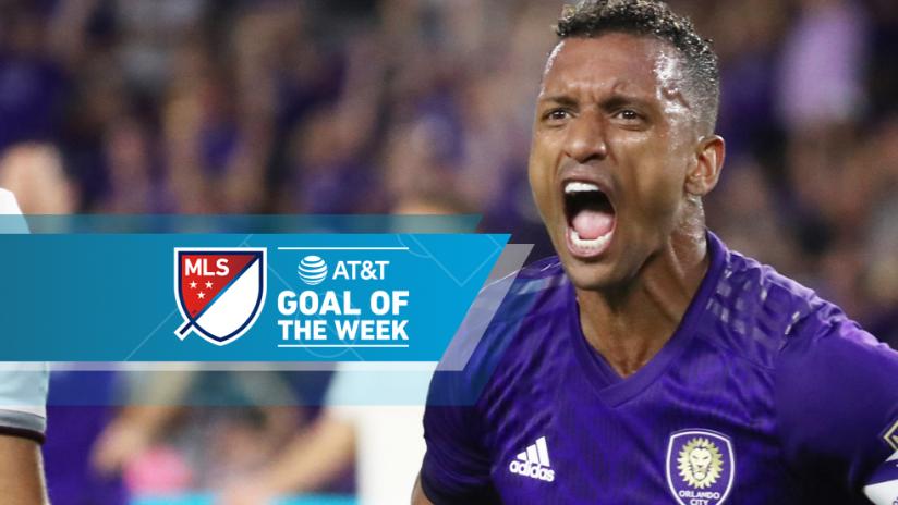 AT&T Goal of the Week - Week 28 - Nani