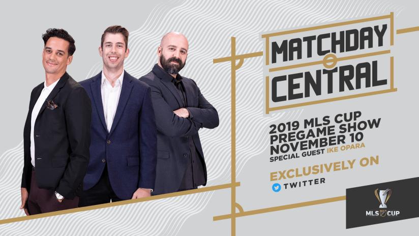 Matchday Central: MLS Cup Pregame Show - Nov 10