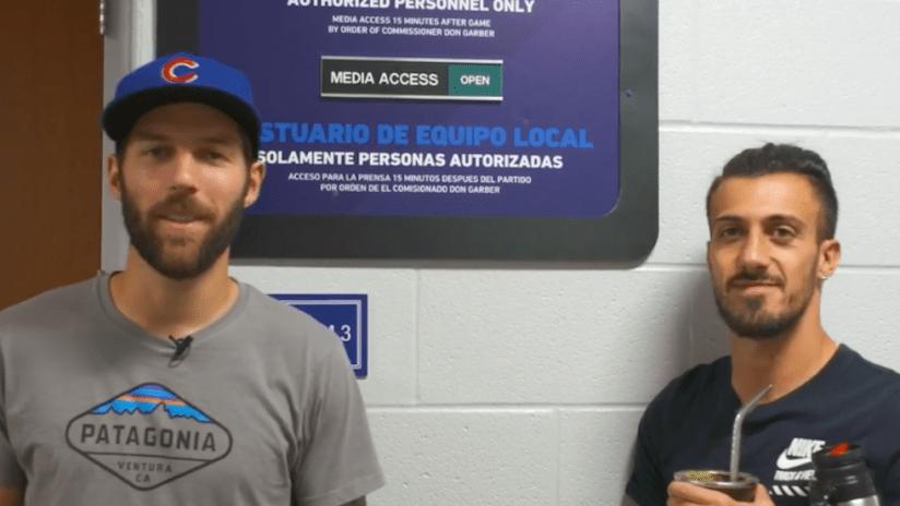 Ryan Hollingshead, Maxi Urruti stadium renovation tour