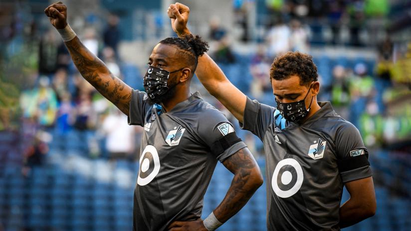 Minnesota, Seattle honor Daunte Wright ahead of MLS opener