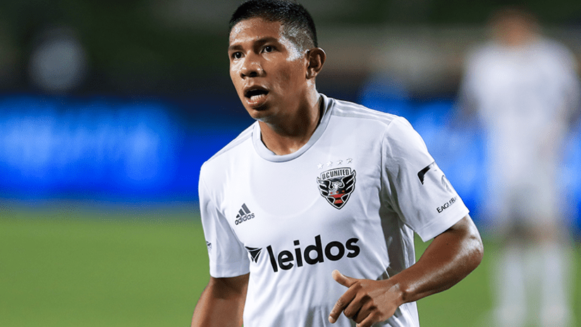 Edison Flores - DC United - August 21, 2020