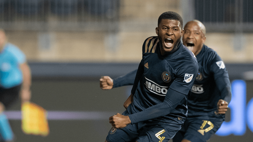 Mark McKenzie - Philadelphia Union - Celebrate