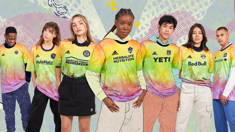 """MLS launches all-new """"Love Unites"""" training gear"""