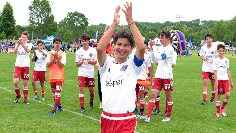 Chicago Fire Juniors City - Under-14 - U14 - Celebrate a win