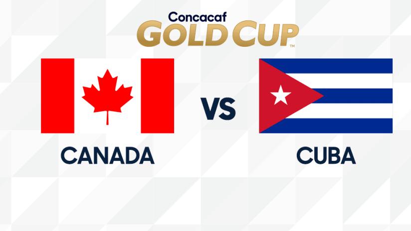 Gold Cup - 2019 - CAN vs CUB