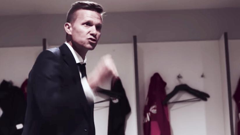 Jesse Marsch - screen grab from RB Salzburg video