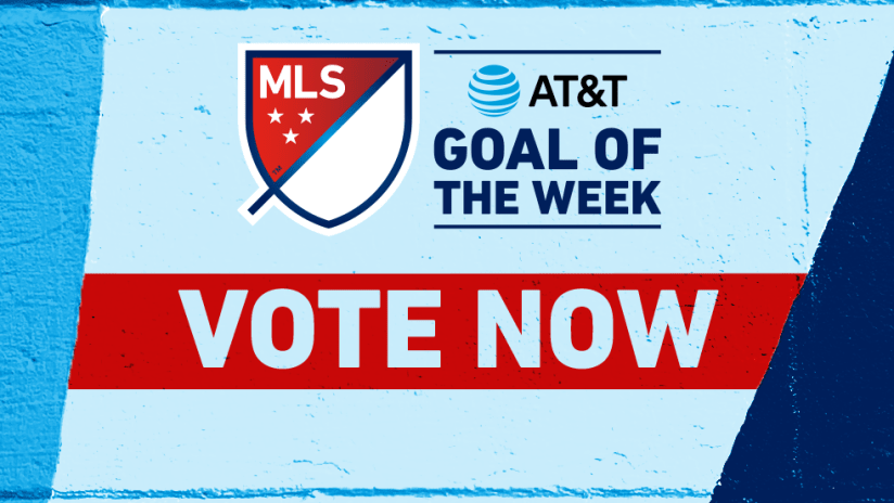 Goal of the Week - 2020 - VOTE NOW!
