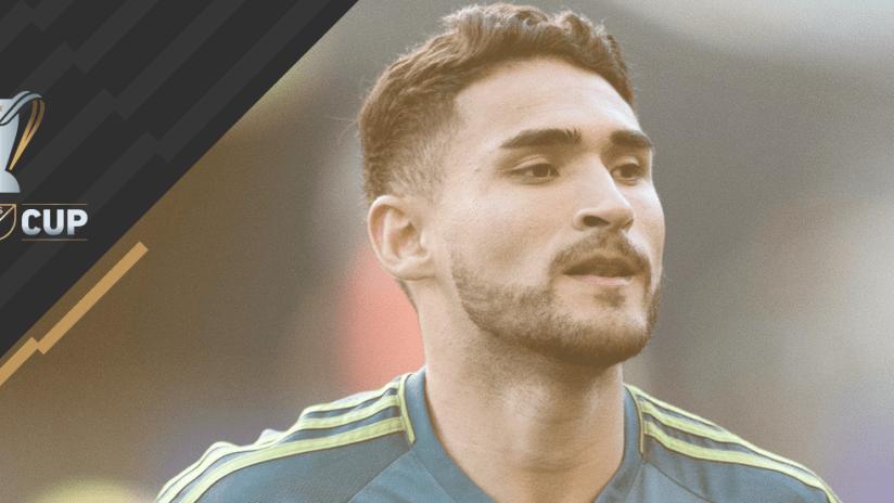 2017 MLS Cup - Cristian Roldan - Seattle Sounders - Looking right
