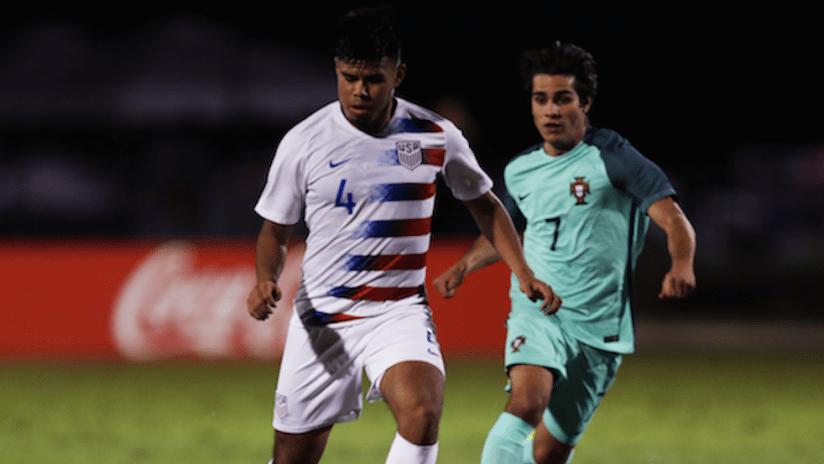 U-17 USMNT vs. Portugal - 2018 Nike Friendlies - via U.S. Soccer