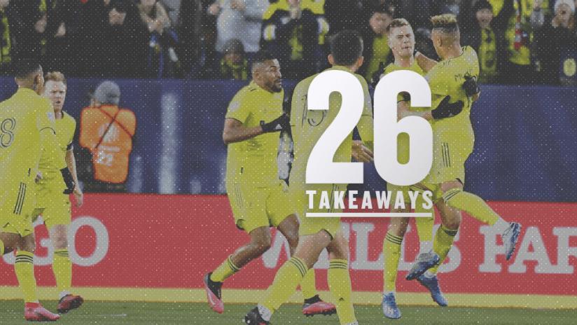 26 takeaways - 2020 - week 1