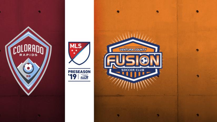 Colorado Rapids vs. VC Fusion - 2019 Preseason