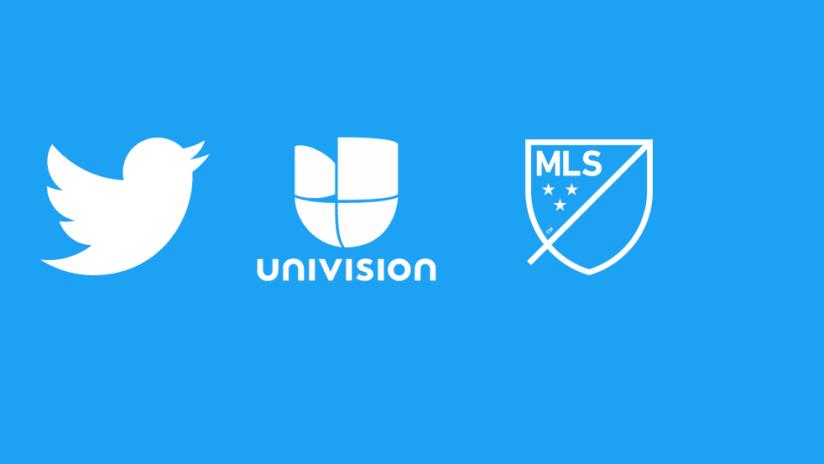 Twitter – Univision – MLS announcement