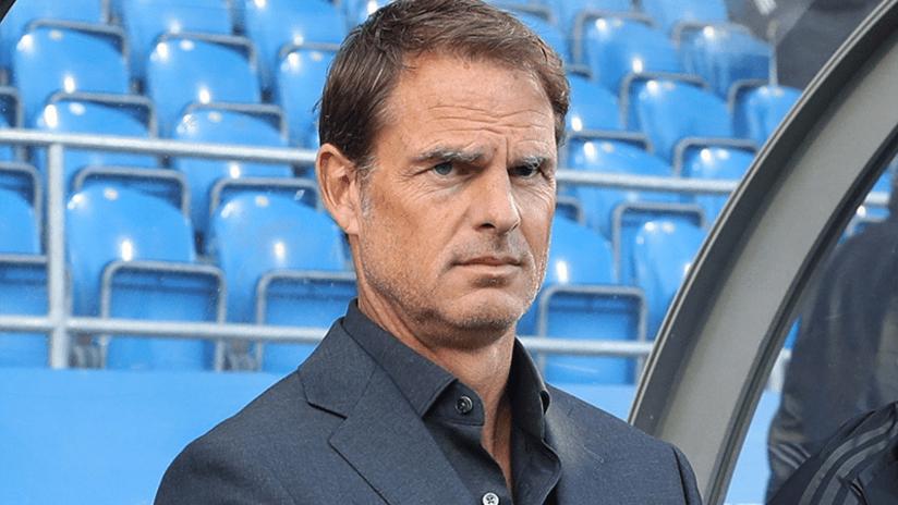 Frank De Boer - Atlanta United - September 29, 2019