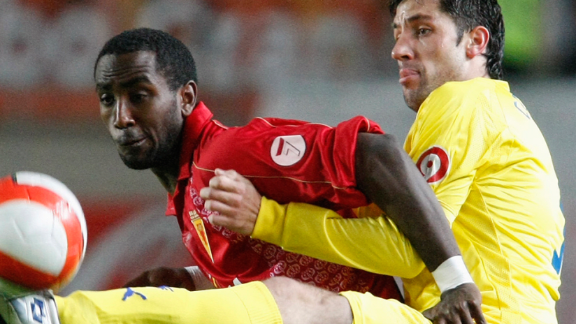 Henok Goitom - with Spain's Real Murcia