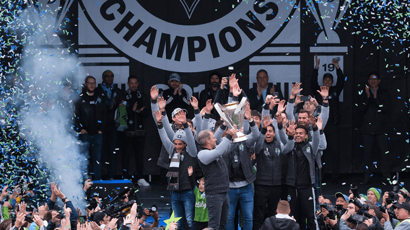 Seattle Sounders - 2019 - MLS Cup parade