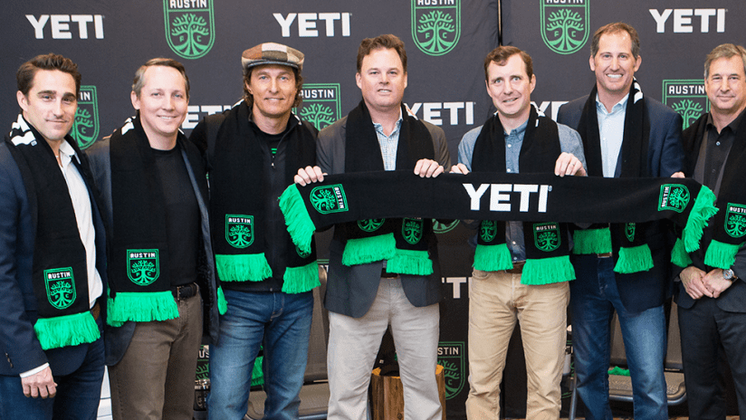Austin FC announce YETI as jersey partners - February 10, 2020