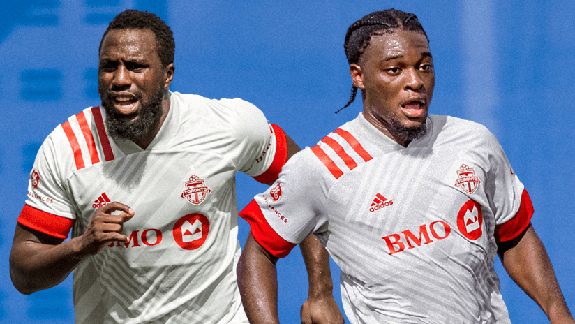 Jozy Altidore and Ayo Akinola - Toronto FC