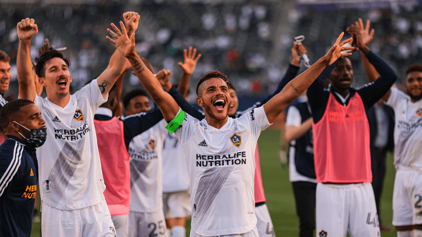 """Greg Vanney's LA Galaxy renovation project boosted by """"culture win"""" in El Trafico"""