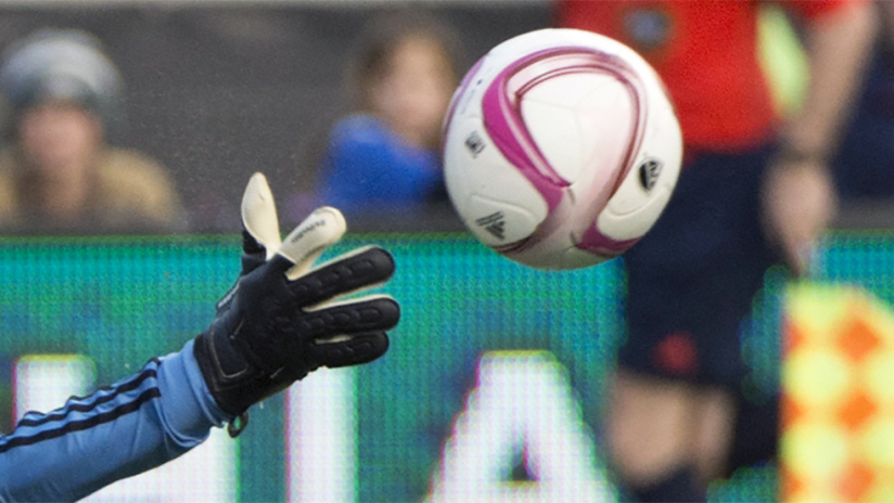 Save of the Week - generic image - GK glove reaching for ball