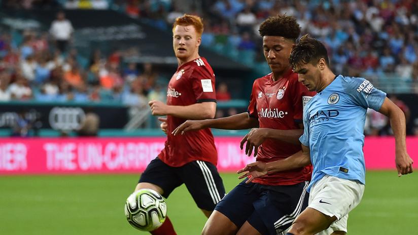 International Champions Cup - Chris Richards - Bayern Munich - Brahim Diaz - Manchester City