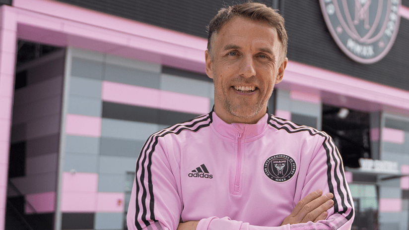 Phil Neville with Inter Miami