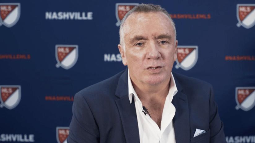 Ian Ayre - Nashville - CEO doing interview