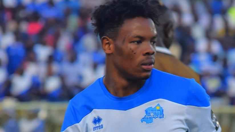 Abdul Rwatubyaye - playing for Rayon Sports FC