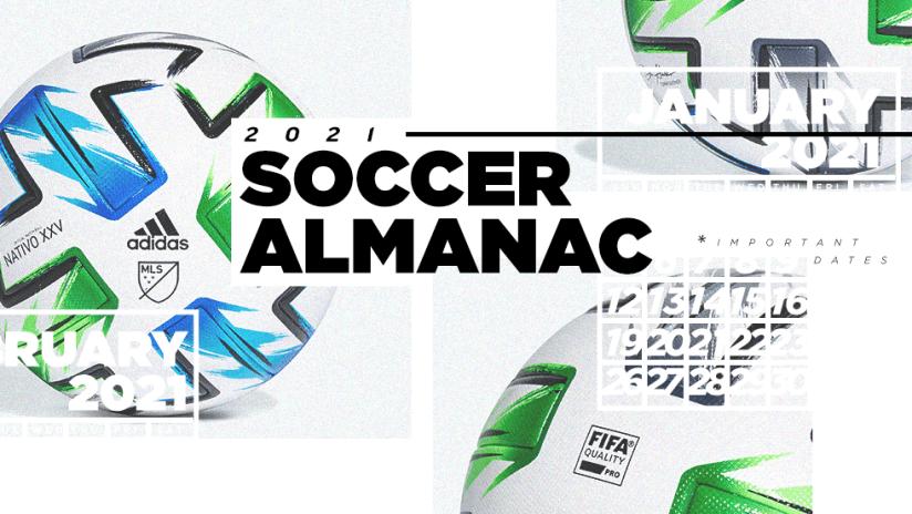 Soccer Almanac - 2021 - primary image