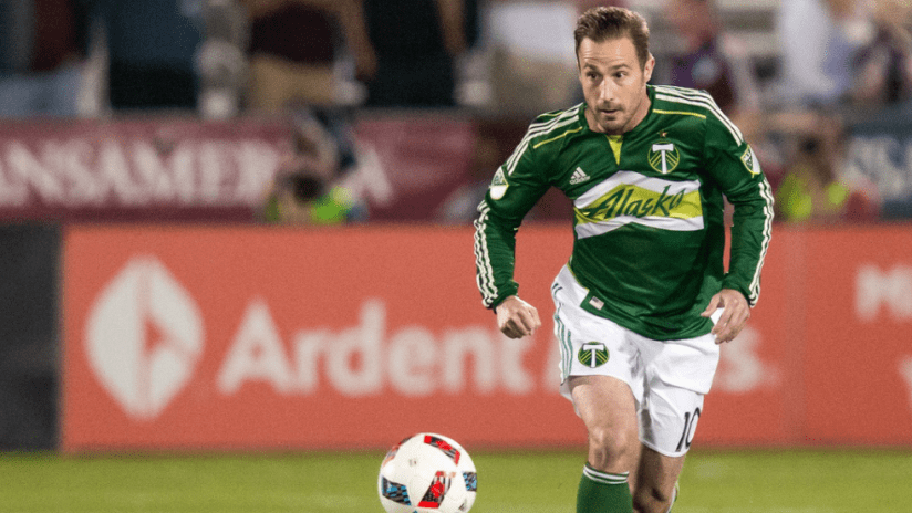 Ned Grabavoy with Portland Timbers - solo shot - 10/1/16