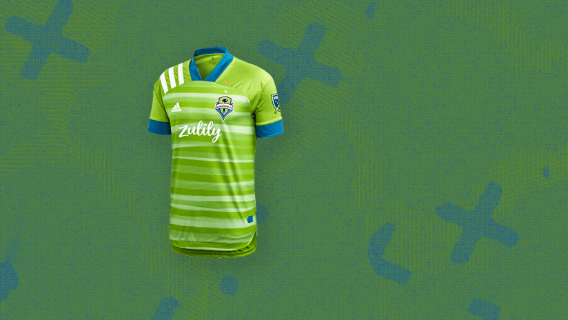 Jerseys - 2020 - Seattle Sounders - primary image