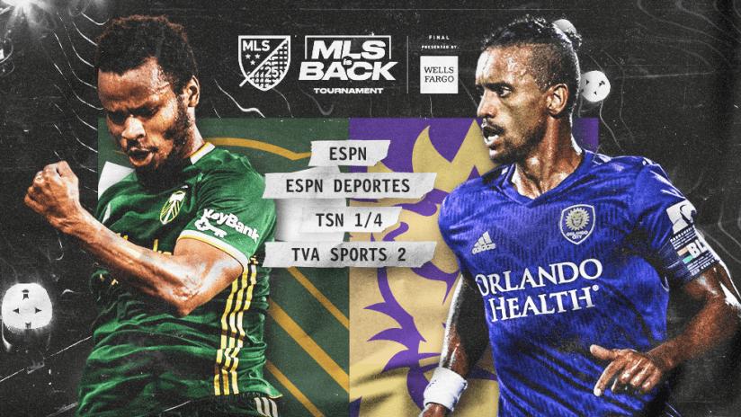 MLS is Back Tournament - PORvsORL Final - primary image