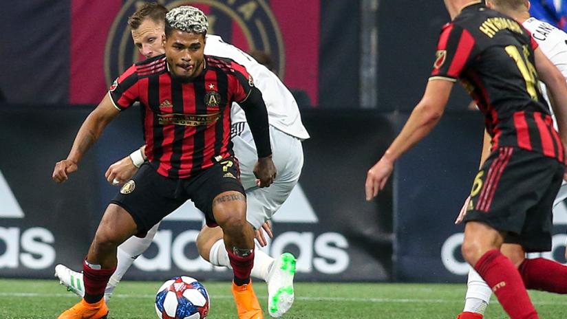 Josef Martinez - Atlanta United - on the ball vs. DC United