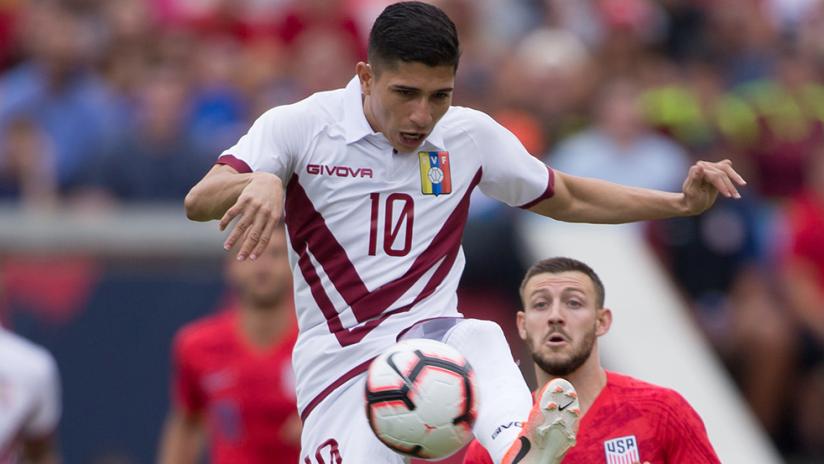 Jefferson Savarino, Paul Arriola - US men's national team vs. Venezuela