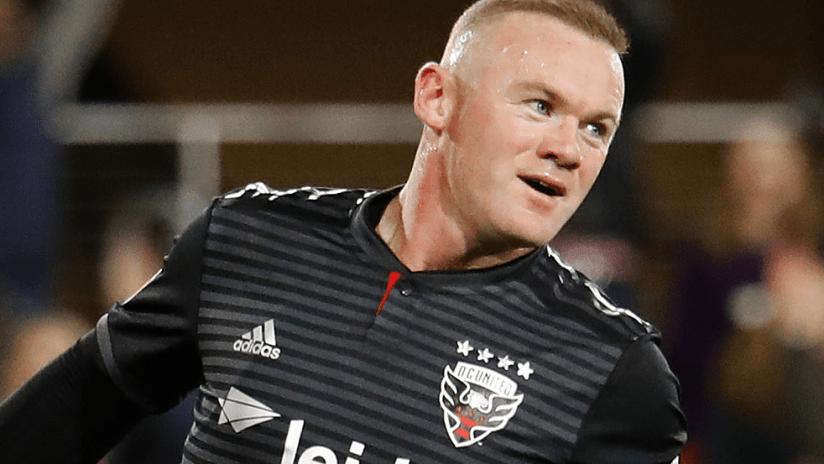Wayne Rooney - D.C. United - close up