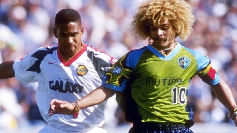 Jersey Throwback - 1996 Tampa Bay Mutiny - Carlos Valderrama